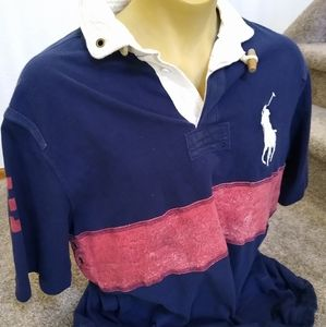 Polo Ralph Lauren Big Pony Rugby Rope Trim 2XLT